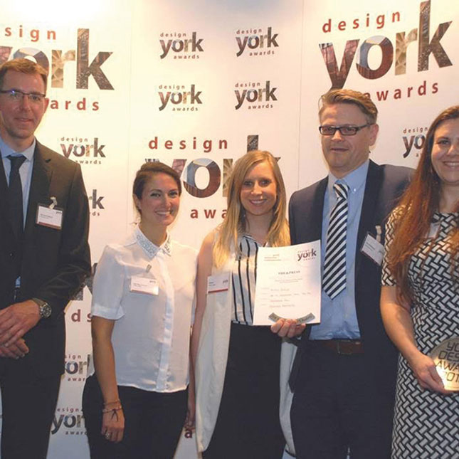 HOTEL INDIGO YORK, LUXURY HOTEL IN YORK IS AWARDED PRESS PEOPLE'S AWARD AT THE YORK DESIGN AWARDS